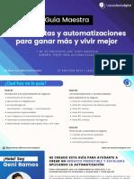 Guia Maestra de Herramientas y Automatizaciones 2021