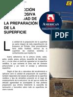 La Protección Anticorrosiva y La Calidad de La Preparación de Superficie
