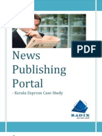News Publishing Portal - Kerala Express Case Study