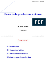 Chapitre 1. Production Laitiere