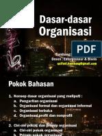 Dasar-dasar Organisasi