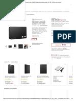 HD Externo Sata USB 3.0 de alta velocidade portátil 2.5 1TB _ 2TB na