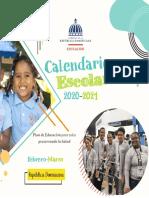 Calendario Escolar FEB MAR 2020 21