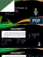 Revisão para Bimestral - 1o bimestre Física 2 - Agroindústria 2C