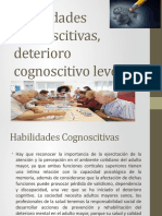 Habilidades Cognoscitivas, Deterioro Cognoscitivo Leve. UPAP 2020