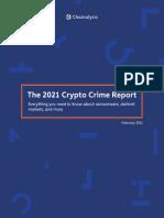 Chainalysis Crypto Crime 2021
