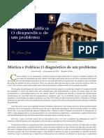 Mística e Política_ O diagnóstico de um problema