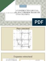 Proceso Constructivo de Una Zapata Aislada y Columna