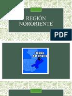 presentacion region nororiente