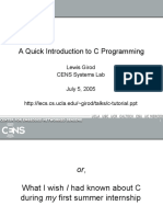 c-tutorial