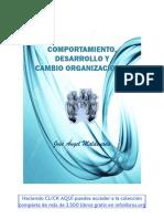 2. Comportamiento, Desarrollo y Cambio Organizacional Autor José Angel Maldonado