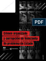 Crimen Organizado y Corrupción en Venezuela Un Problema de Estado