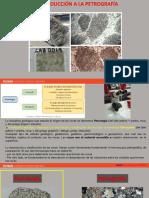 U 1.1 Introducción y nociones básicas de petrografía