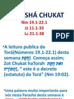 Parasha  Chukat