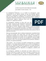 FORTALEZAS Y DEBILIDADES DE LA INVESTIGACION CUALITATIVA