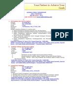 Agenda April 2011