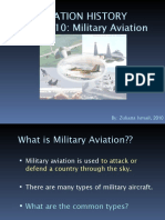 Lecture 10 Military Aviation
