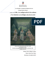 Jean Delville y la configuración de los salones d'Art Idéaliste en la Bélgica de fin-de-siècle [TFM _Gallegos Cordero Ester]