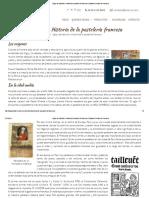Siglos de tradición_ Historia de la pastelería francesa _ Tartamiel Pastelería Francesa