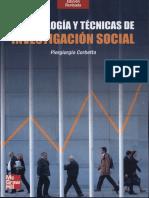7 - Metodología y Técnicas de Investigación Social - Piergiorgio Corbetta - Apoyo Estudiantil