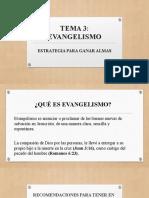 3. EVANGELISMO