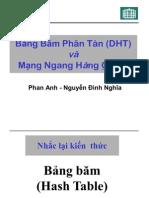 Bảng Băm Phân Tán (DHT)vàMạng Ngang Hàng Chord