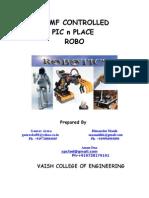 Robot Project Report Robotics
