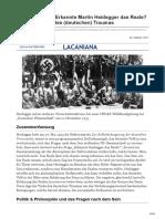 Lacan-Entziffern.de-lutz GoetzmannErkannte Martin Heidegger Das RealeÜber Die Tücke Des Deutschen Traumas