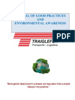 Manual of Good Environmental Practices