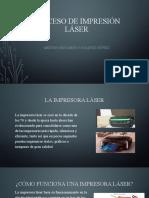 Proceso de impresión laser