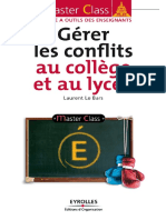 Gérer Les Conflits Au Collège Et Lycée