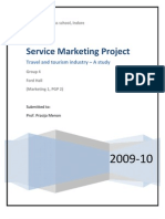Abstract- Service Marketing