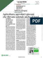 Agrcioltura Agevolati Giovani Aziende Al Nord Sole23sett2020