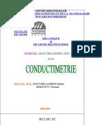 TP conductimétrie