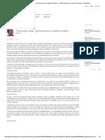"""""""Intervenção Militar"""" Ganha Terreno No Tabuleiro Político » André Pomponet - André Pomponet » Infocultural"""