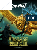 City of Mist - If Dreams Could Kill - New Player Options