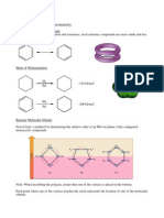 condition for aromaticity