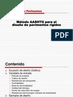 PDF Método AASHTO para el diseño de pavimentos rigidos