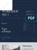 Type of Policies-PA 203 Group 3