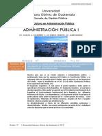 ORGANIZACIÓN ADMINISTRATIVA DEL GOBIERNO DE GUATEMALA