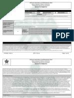 Reporte Proyecto Formativo - 2216148 - ELABORACION DE PLANES DE MEJOR