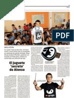 FASTER, marca de Fernando Alonso