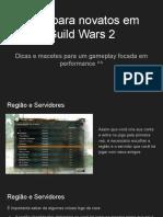 Guia para Novatos Guild Wars 2