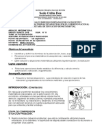 Guia de Matematicas #8 1-09-20