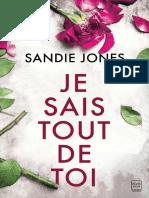 16 Sandie Jones - je sais tout de toi