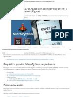 MicroPython_ ESP32 _ ESP8266 con servidor web DHT11 _ DHT22 _ Tutoriales aleatorios de nerds