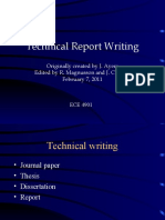 Lecture 07 Technical Writing