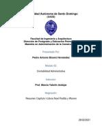 Resumen Capitulo 1 Libro Noel Padilla y Warren-Pedro Bisono MAC 2022
