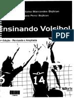 Ensinando Vôleibol IV Edição - Luciana Perez Bojikian & Joao Crisostomo Marcondes Bojikian