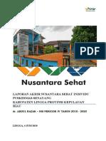 LAPORAN AKHIR NSI PERIODE IV 2018-2020 - dr. Abdul Razak